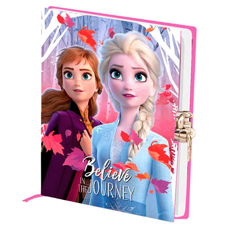 Disney Frozen 2 diary with key