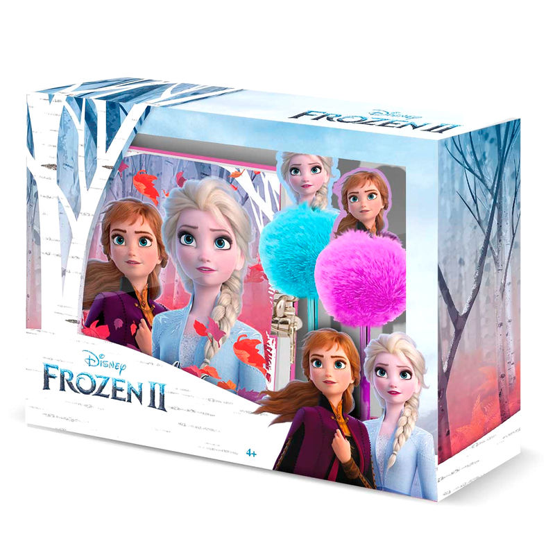 Disney Frozen 2 diary + pen set