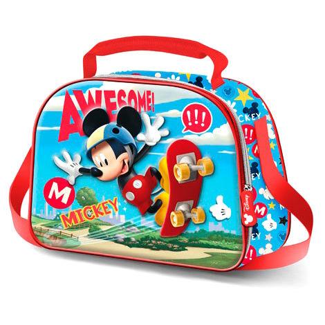 Disney Mickey Skater 3D lunch bag