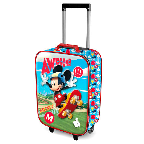 Disney Mickey Skater 3D trolley 52cm