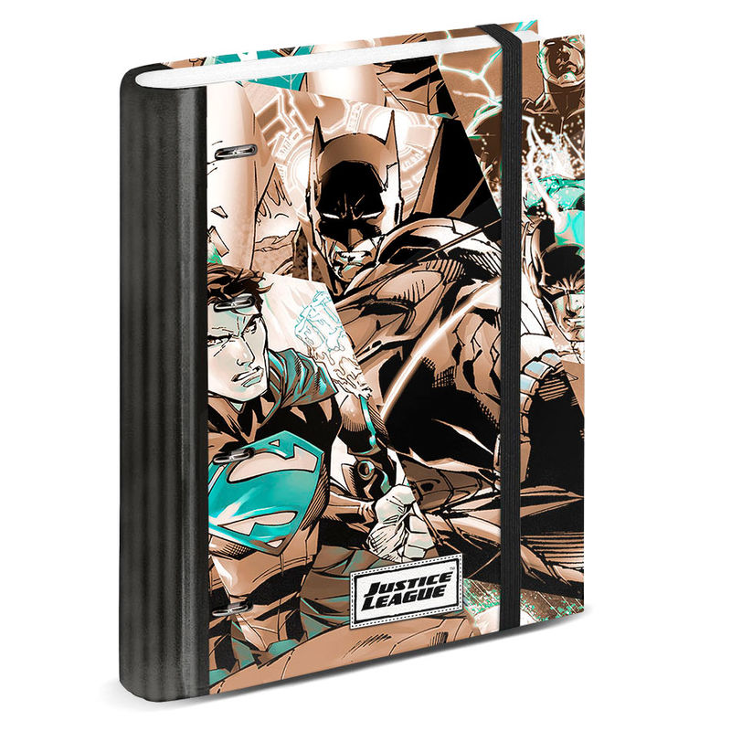 DC Comics Justice League A4 folder with sheets