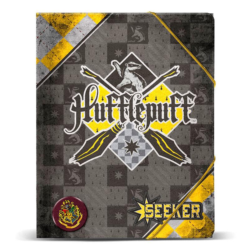 Harry Potter Quidditch Hufflepuff A4 folder