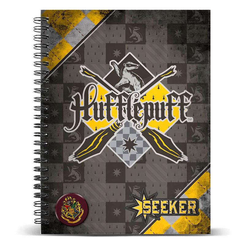 Harry Potter Quidditch Hufflepuff A4 notebook