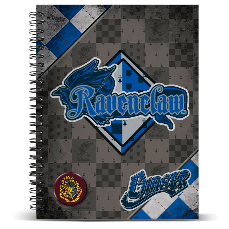 Harry Potter Quidditch Ravenclaw A4 notebook