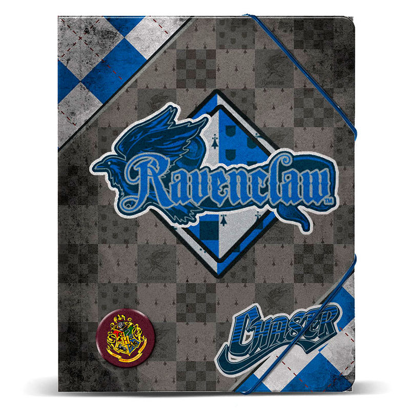 Harry Potter Quidditch Ravenclaw A4 folder