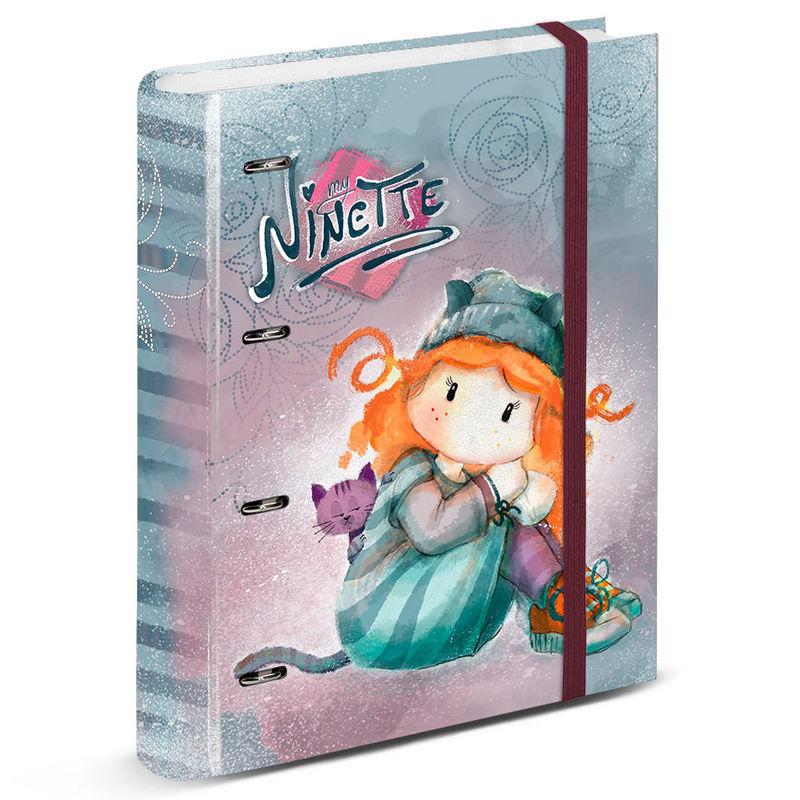 Ninette Forever A4 folder with sheets