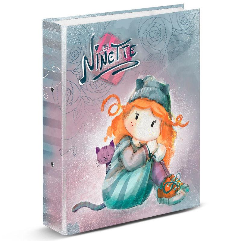 Ninette Forever A4 ring binder
