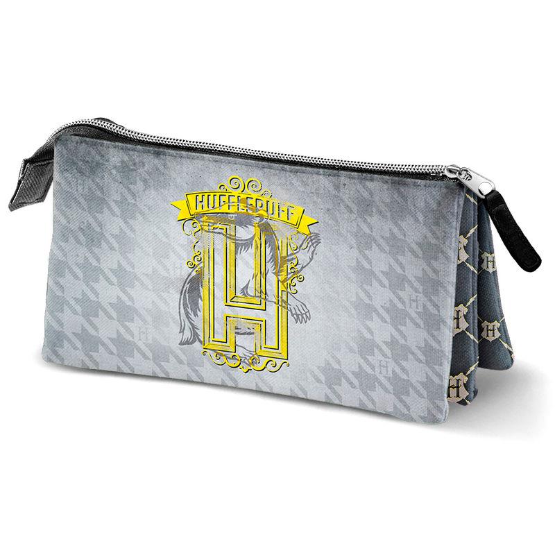 Harry Potter Hufflepuff triple pencil case