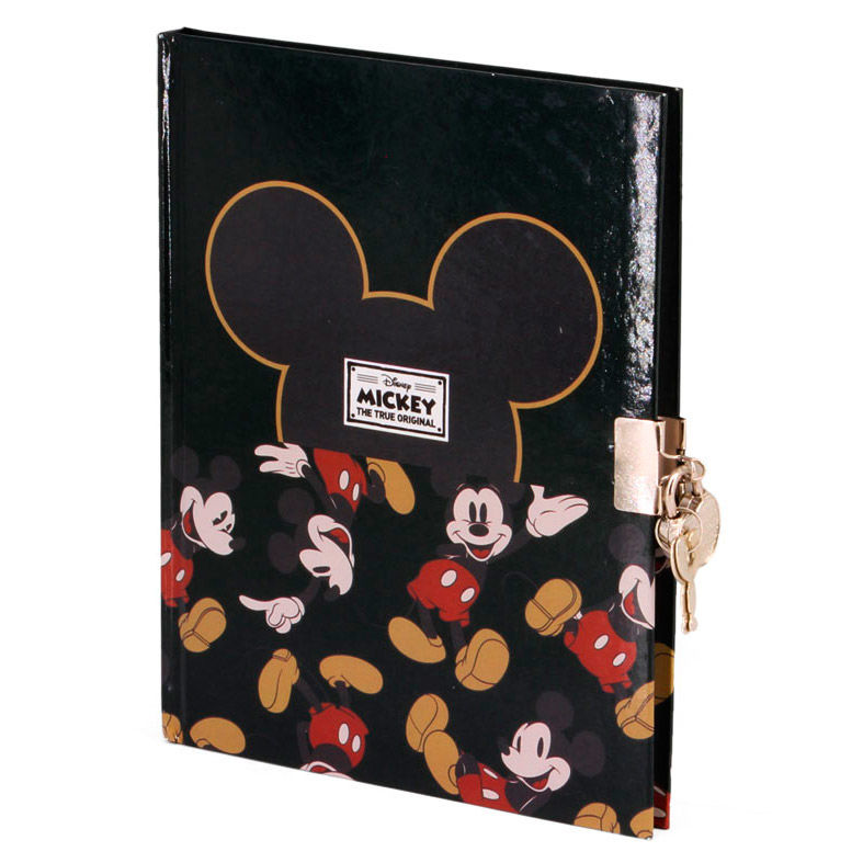 Disney Mickey True diary with key