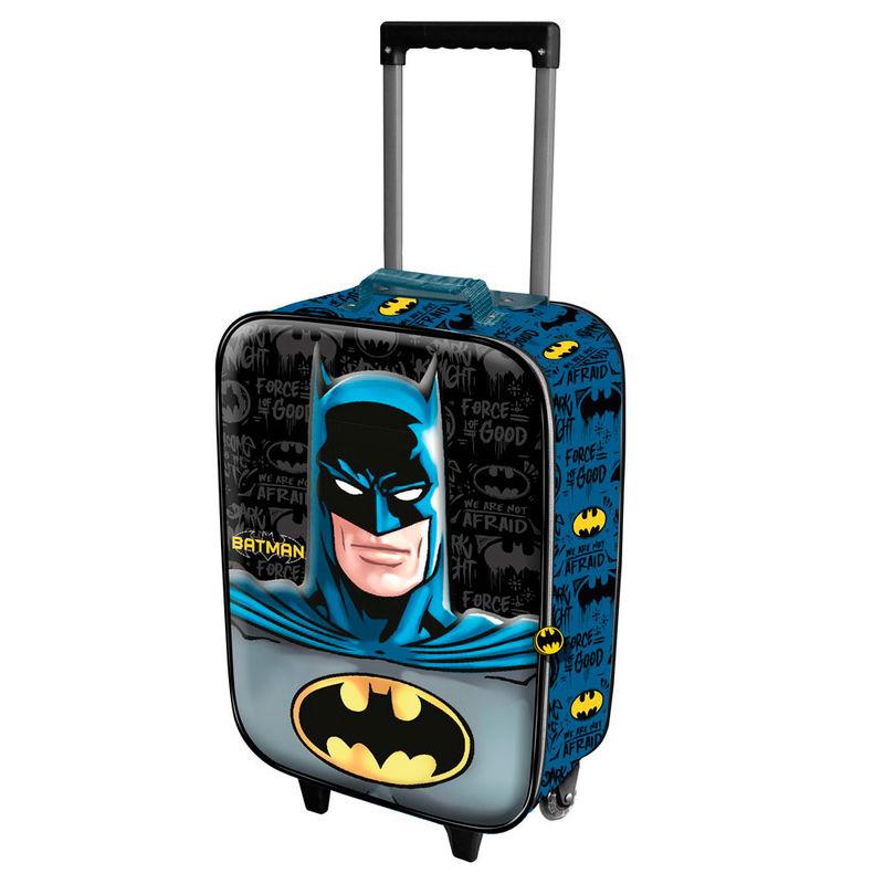 DC Comics Batman Knight 3D reisikohver 2 rattad 52cm
