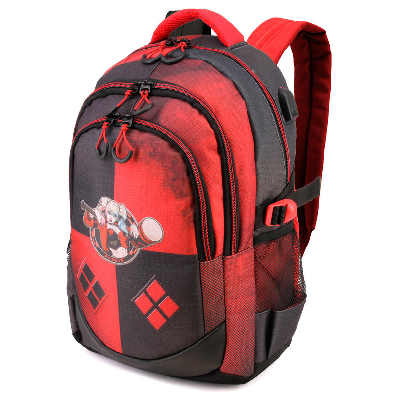 DC Comics Suicide Squad Harley Quinn backpack 44cm