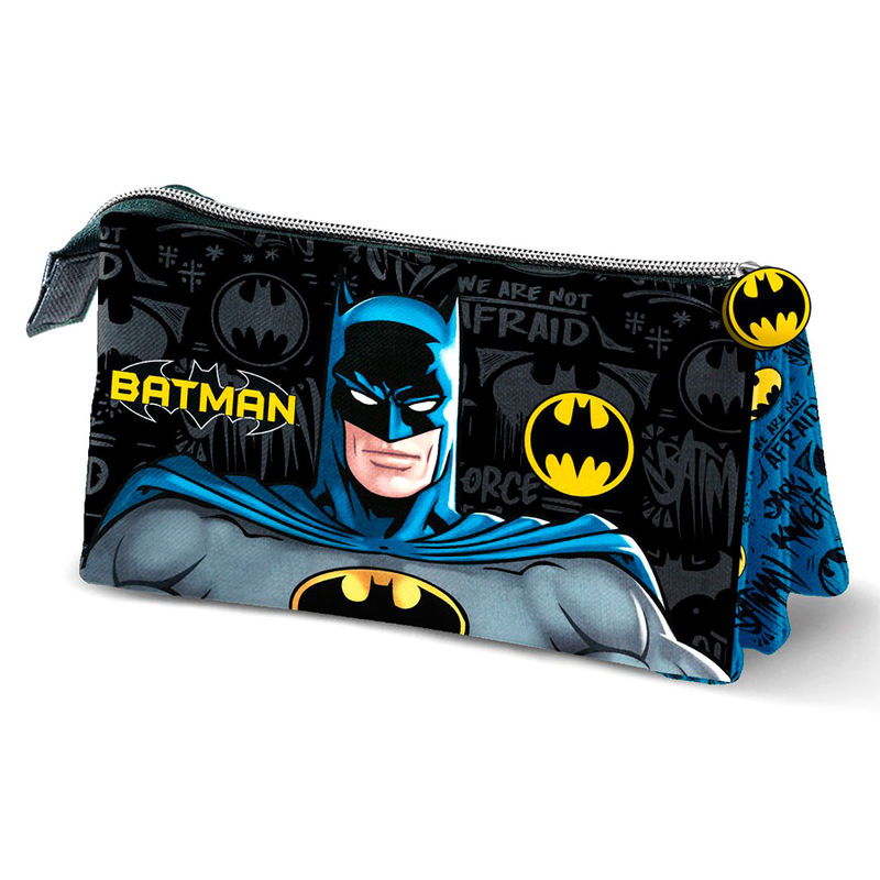 DC Comics Batman Knight triple pencil case