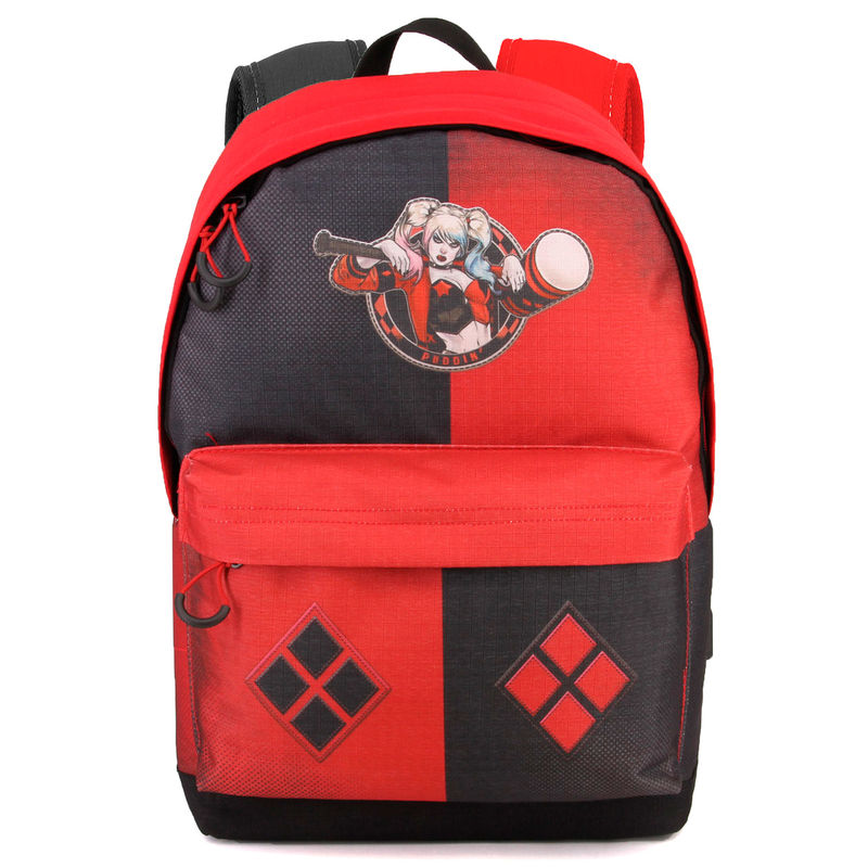DC Comics Suicide Squad Harley Quinn adaptable backpack 42cm