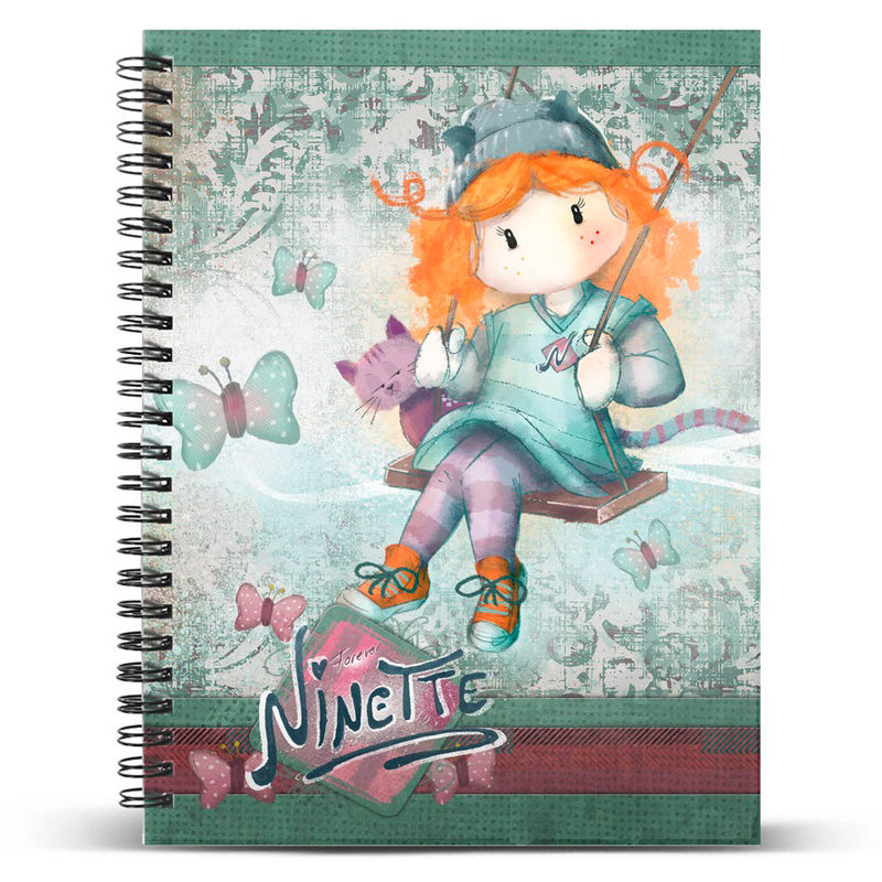 Ninette Swing A4 notebook