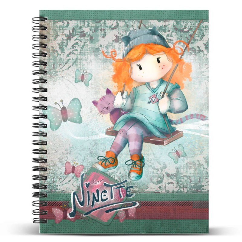 Ninette Swing A5 notebook