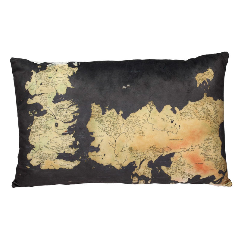 Game of Thrones Ponient Map cushion