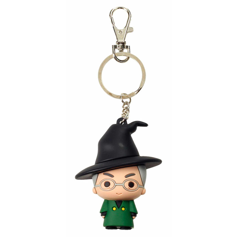 Harry Potter Minerva Mcgonagall rubber keychain
