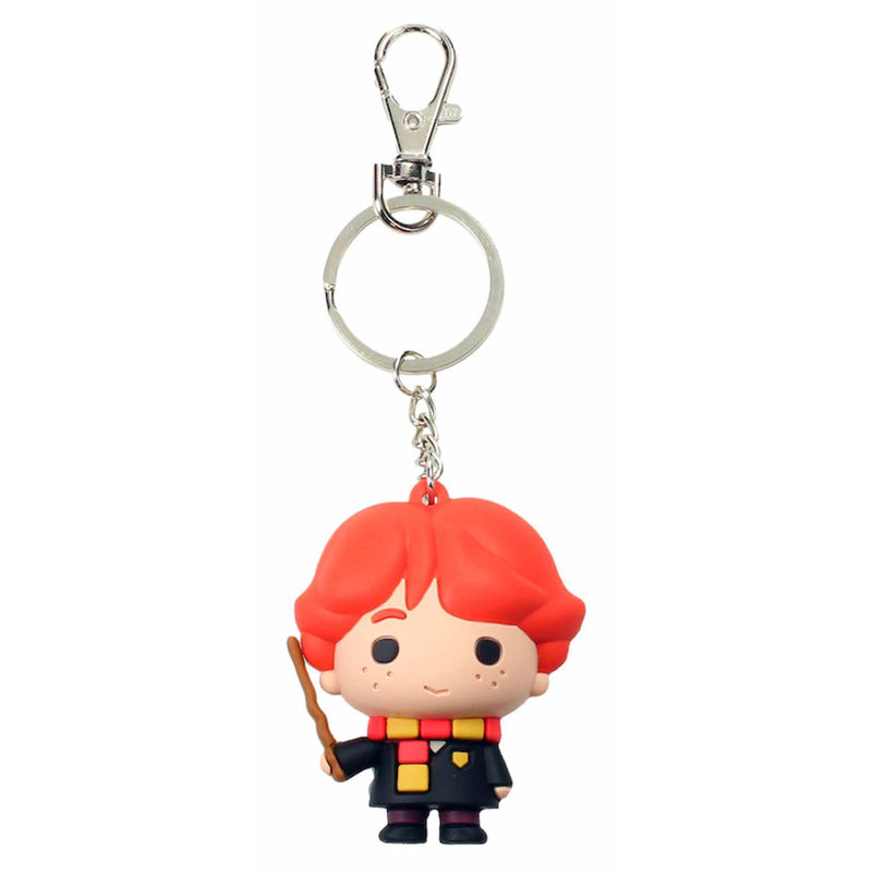 Harry Potter Ron Weasly rubber keychain