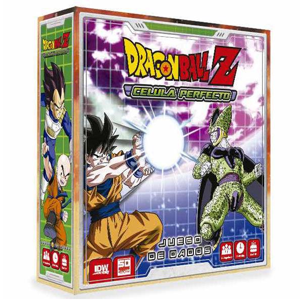 Dragon Ball Z Celula Perfecto spanish board game