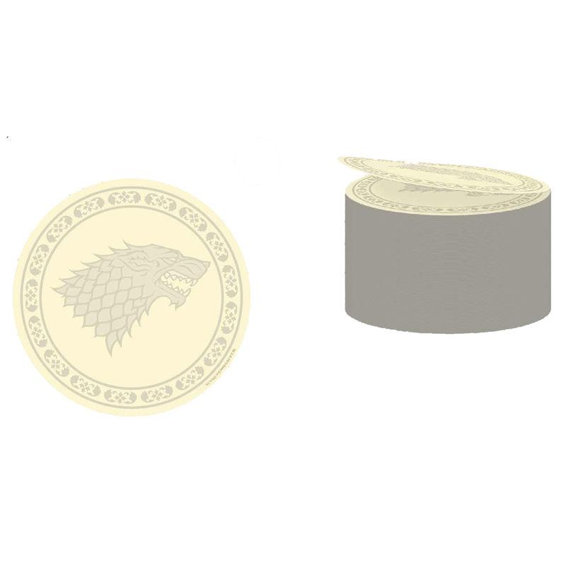 Game of Thrones Stark logo postick