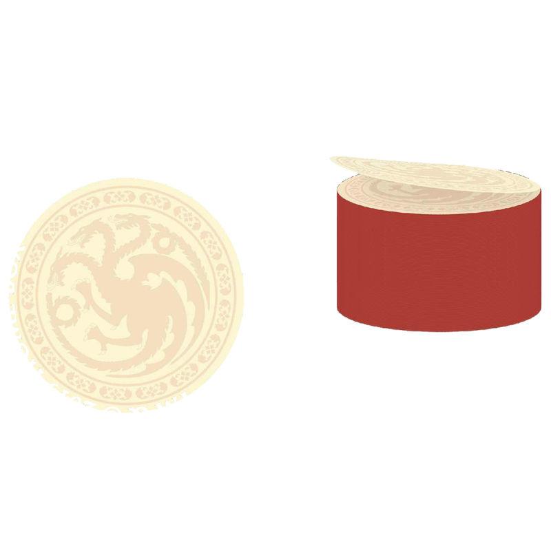 Game of Thrones Targaryen logo postick