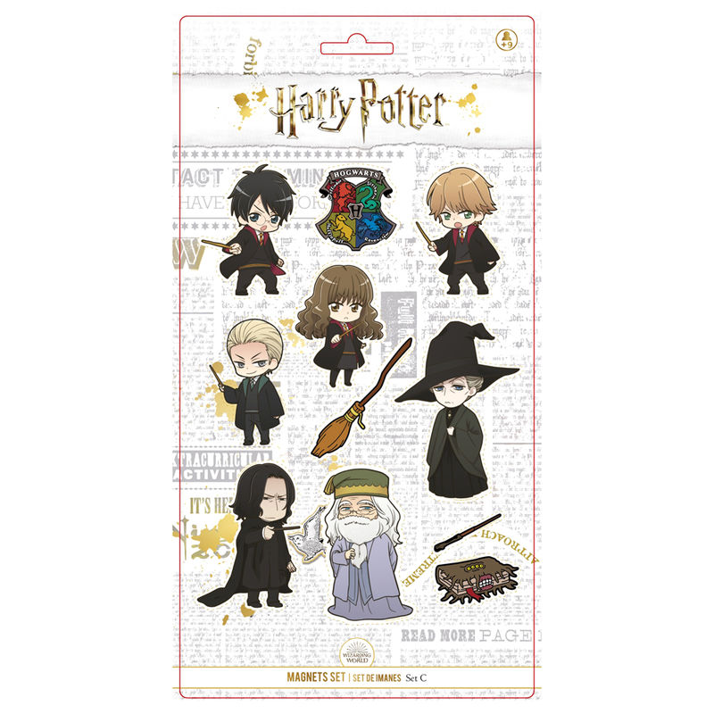 Harry Potter Characters set 11 magnets