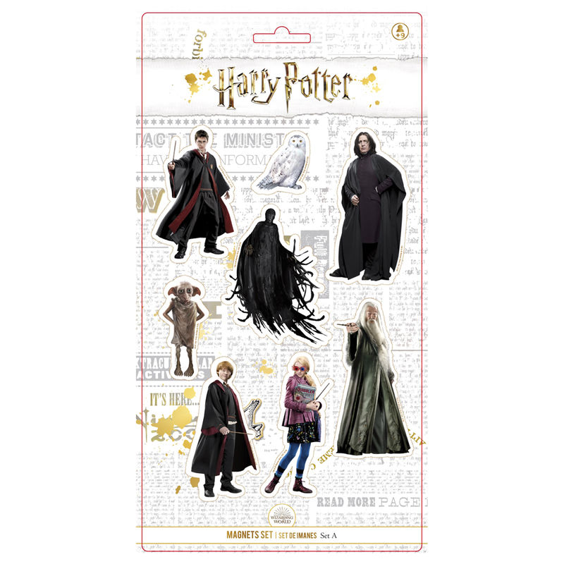 Harry Potter Characters set 8 magnets