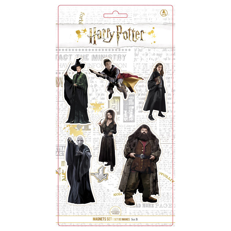 Harry Potter Characters set 6 magnets