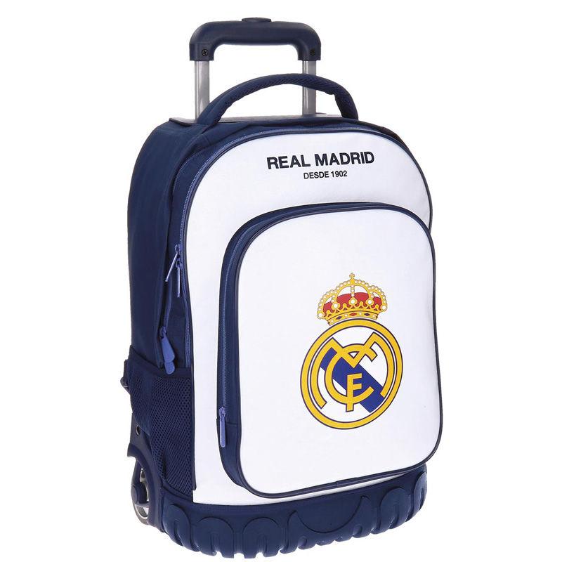 Real Madrid Campus seljakott-käru 2w 50cm Valge