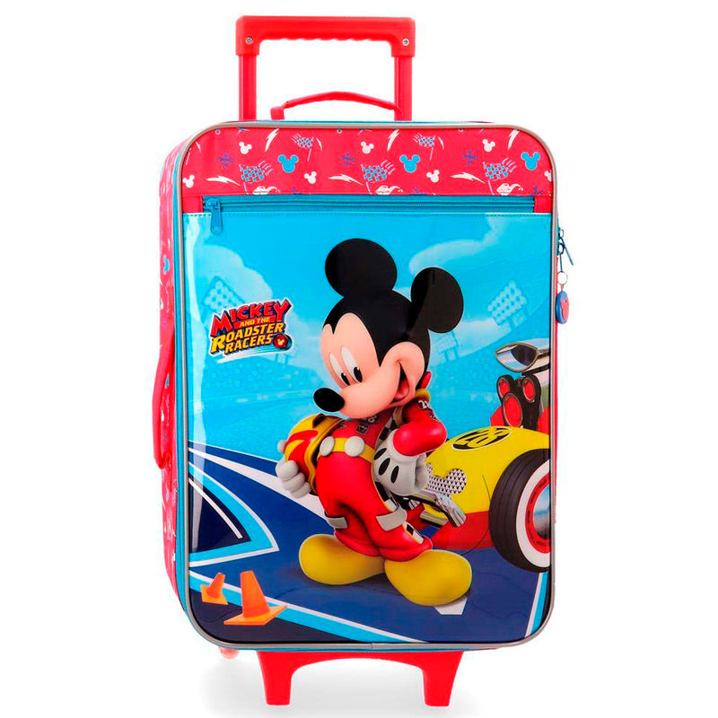Disney Lets Roll Mickey ABS reisikohver 50cm