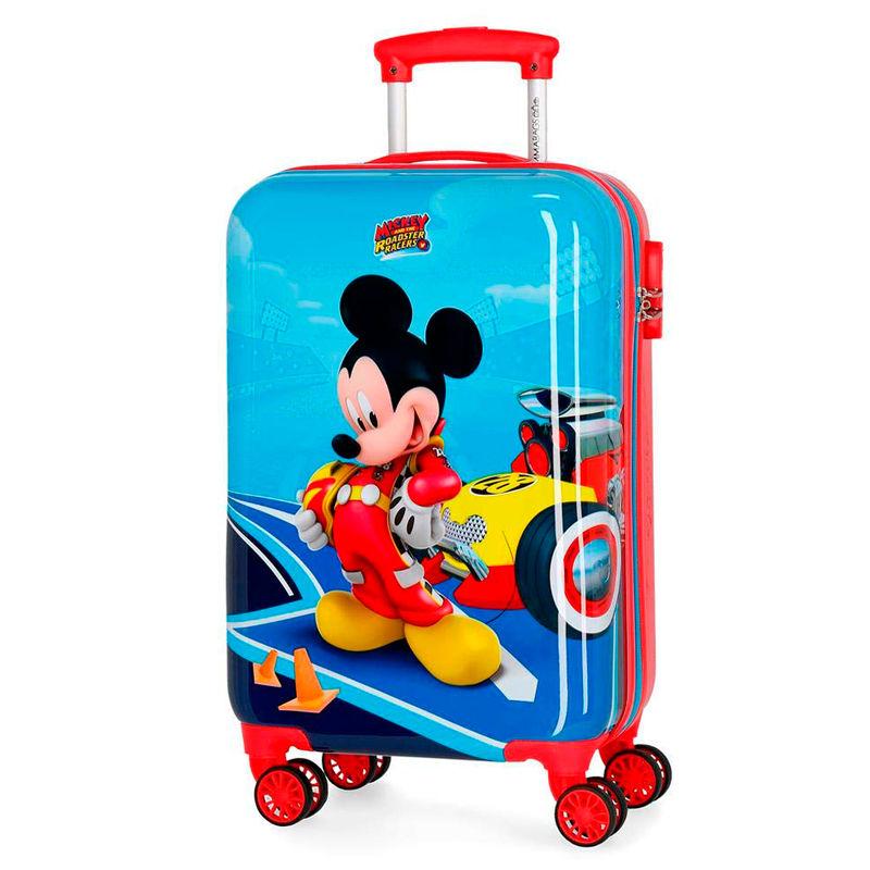 Disney Lets Roll Mickey ABS reisikohver 55cm 4w