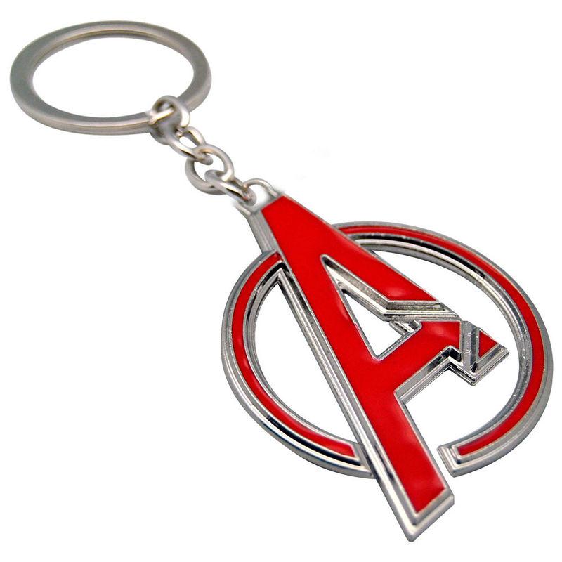 Marvel Avengers Logo 3D keyring