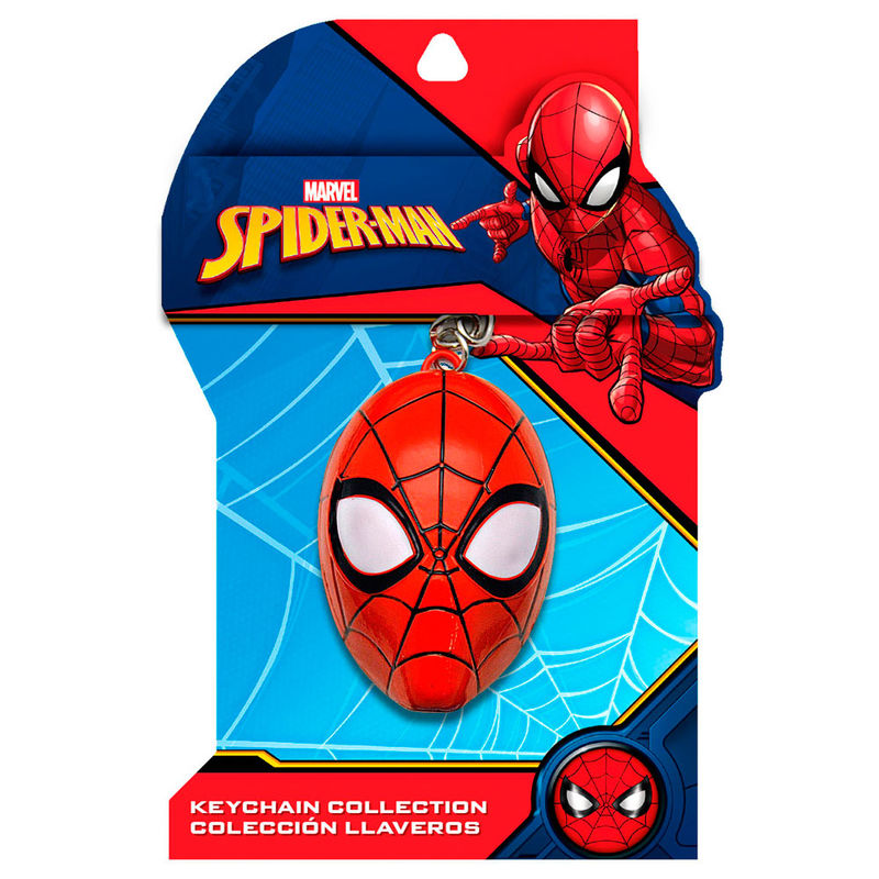 Marvel Spiderman 3D keyring