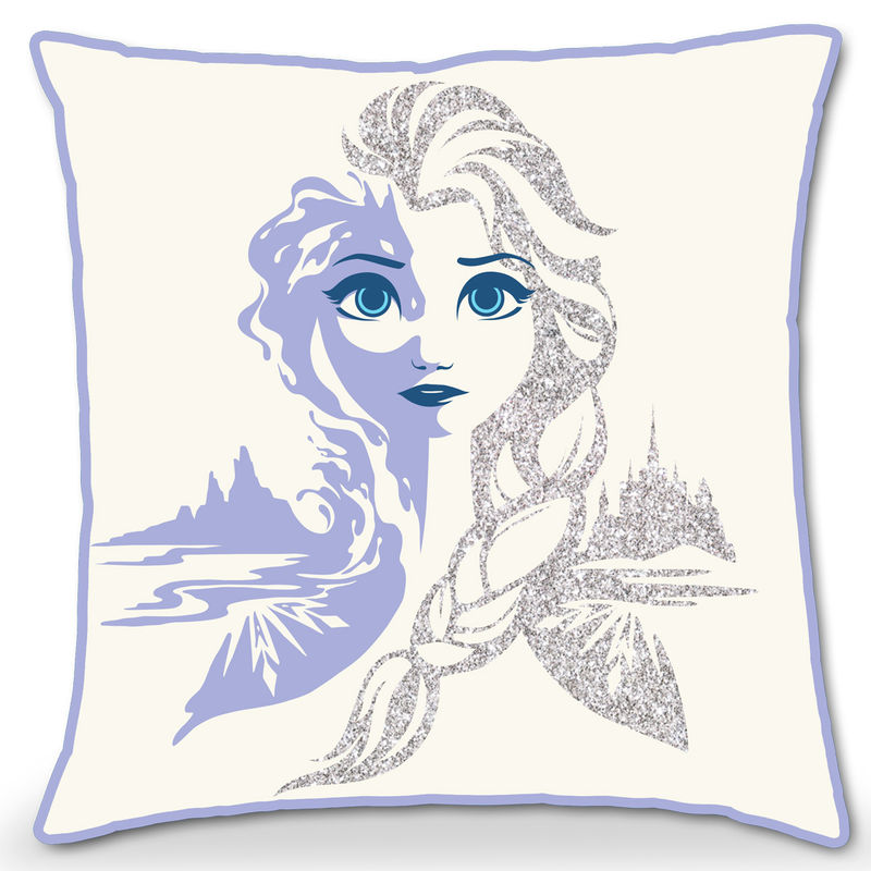 Disney Frozen 2 glitter cushion