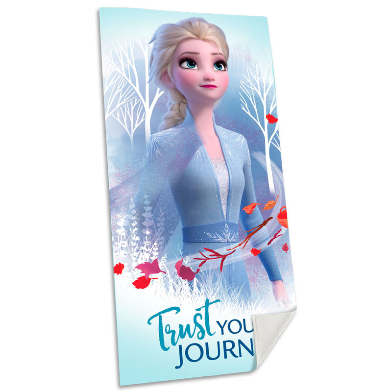 Disney Frozen 2 Elsa cotton beach towel