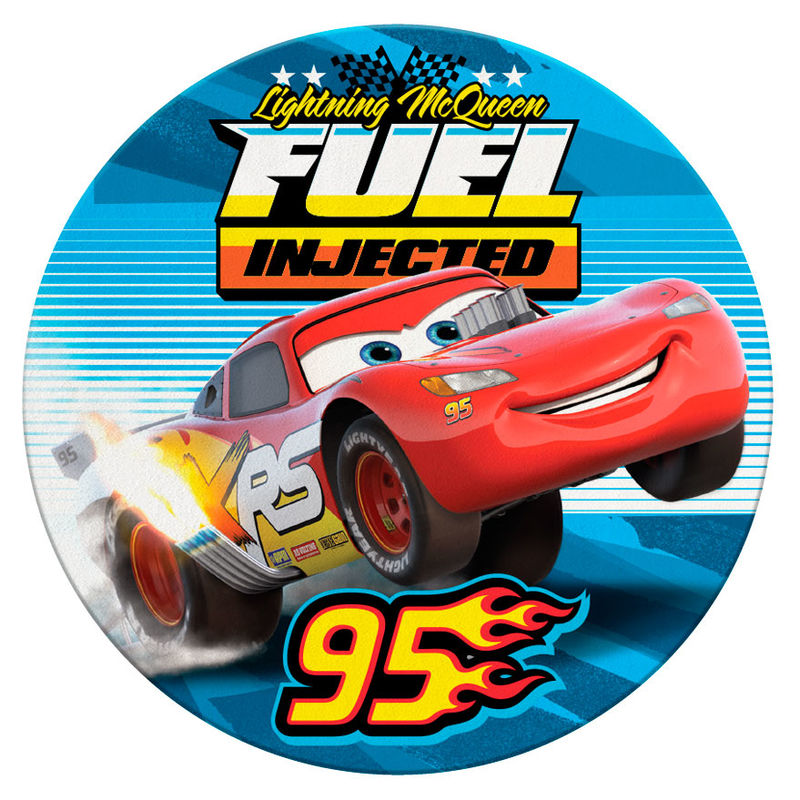 Disney Cars microfiber round beach towel