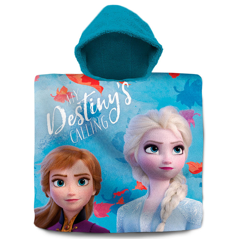 Disney Frozen 2 cotton poncho towel
