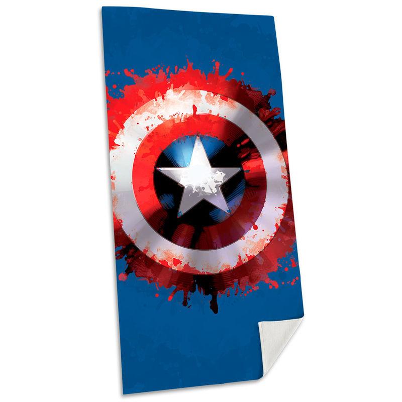 Marvel Captain America cotton beach towel