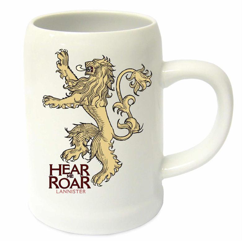 Game of Thrones Hear Me Roar ceramic jug