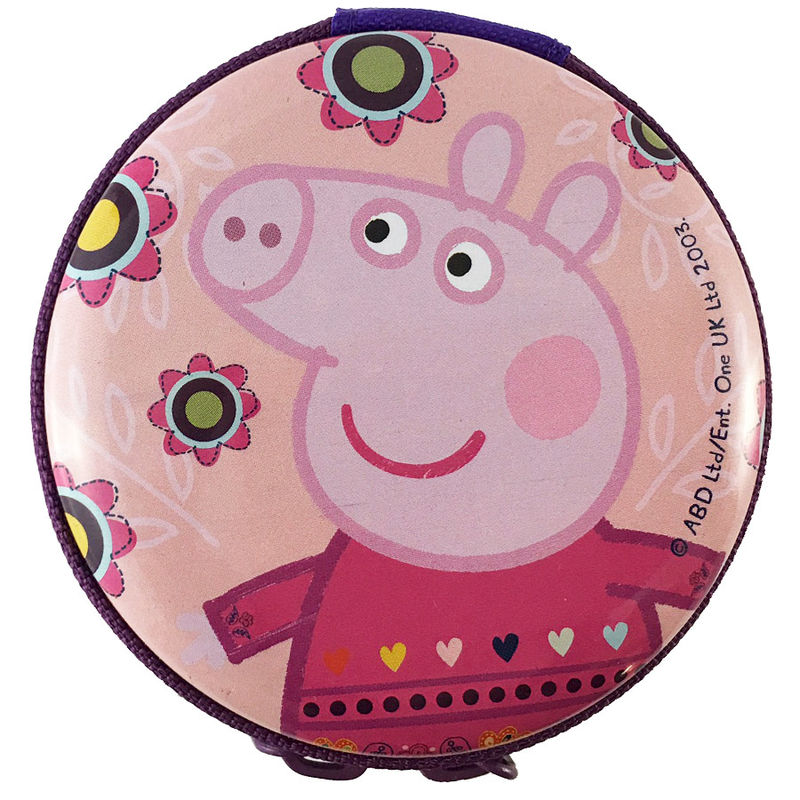 Peppa pig metalic purse