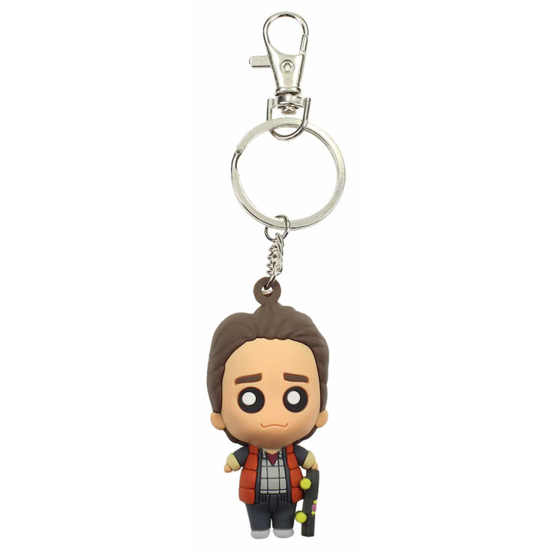 Back to the Future Marty McFly Pokis keychain