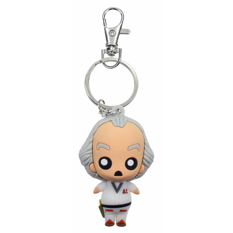 Back to the Future Doc Pokis keychain
