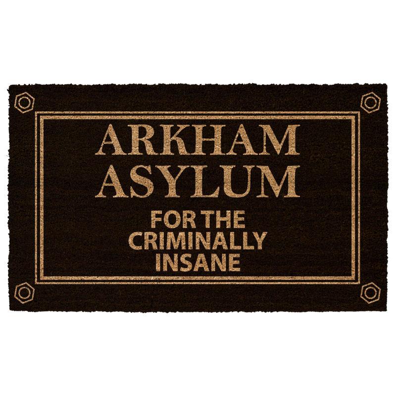 DC Comics Batman Arkham Asylum doormat