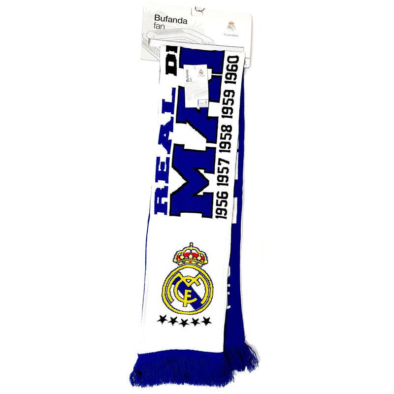 Real Madrid desde 1902 double fan scarf