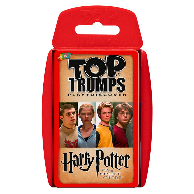Spanish game Harry Potter and the Goblet of Fire Top Trumps