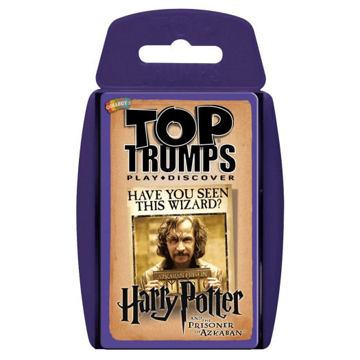 Spanish game Harry Potter and The Prisioner of Azkaban Top Trumps