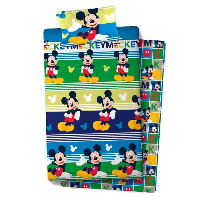 Disney Mickey sheets set bed 105cm