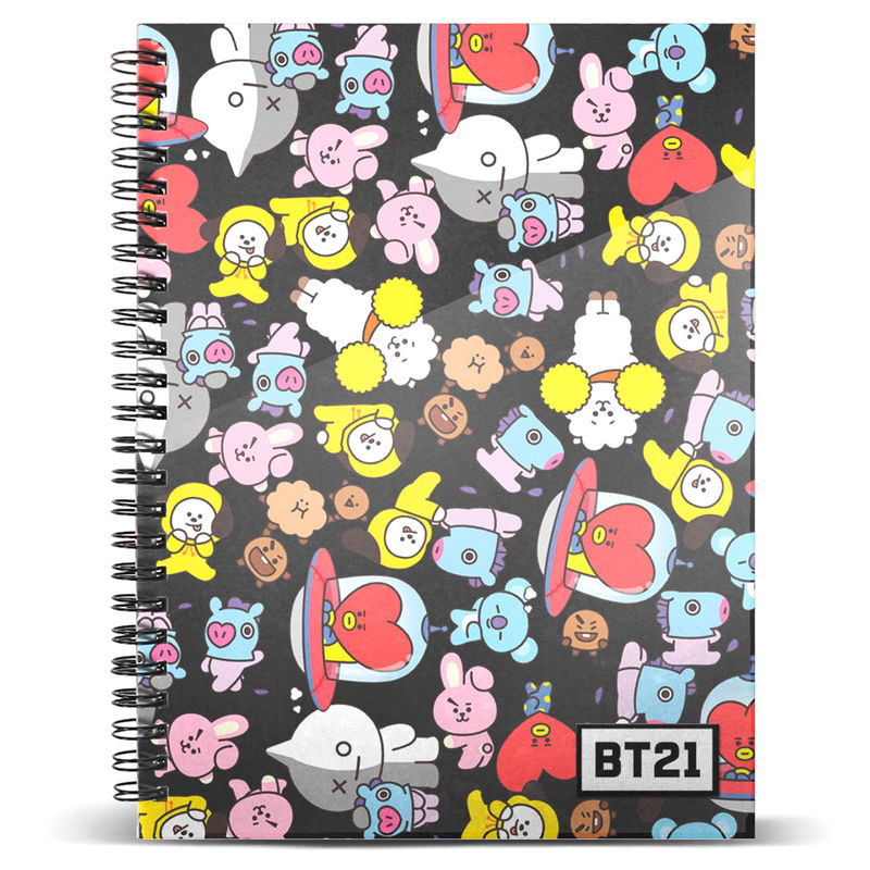 BT21 A4 notebook
