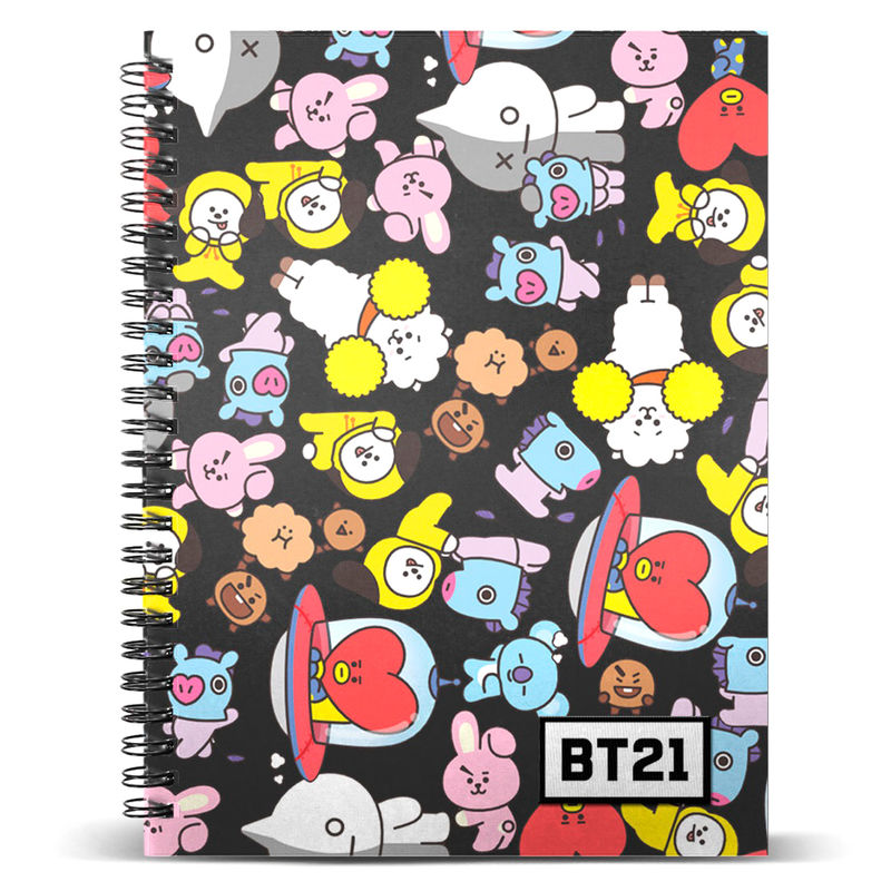 BT21 A5 notebook