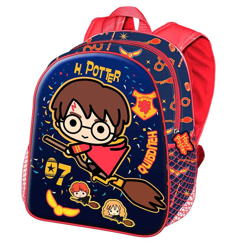 Harry Potter Quidditch 3D backpack 31cm
